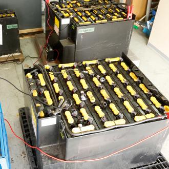 鉛バッテリーの再生事業